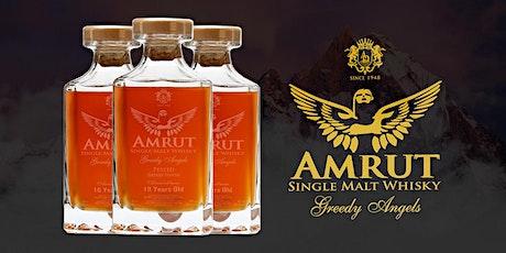 Amrut Whisky Dinner tickets