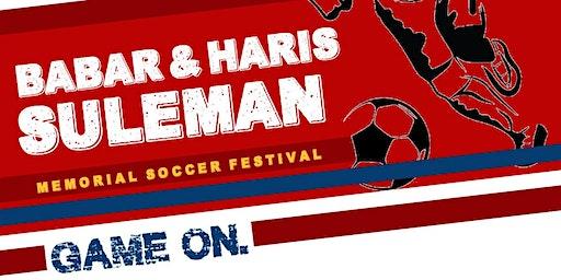 2020 Babar & Haris Suleman Memorial Soccer Festival!