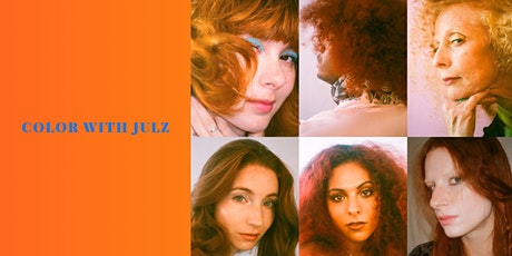Introduction to hair painting and redheads with Julia Elena tickets