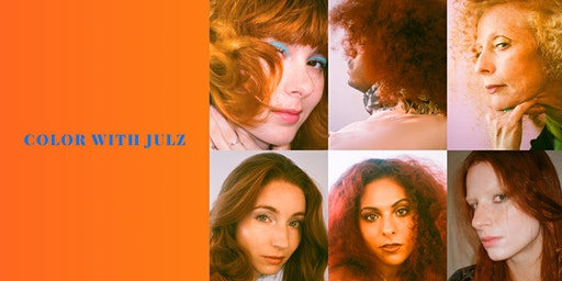 Introduction to hair painting and redheads with Julia Elena