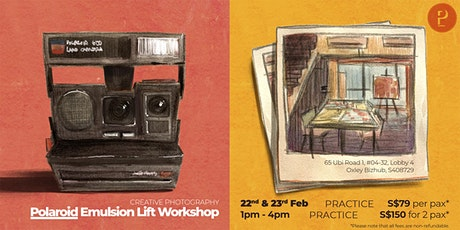 Polaroid Emulsion Lift Workshop tickets