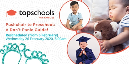 Pushchair to Preschool: A Don't Panic Guide (Rescheduled to 26 February 2020)