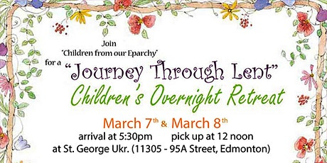 Children's Overnight Lenten Retreat 2020 tickets