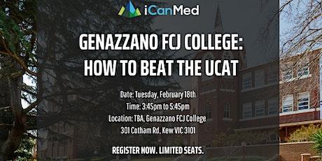 Genazzano FCJ College UCAT Workshop: How to Beat the UCAT (Yr 12, 11, 10) tickets