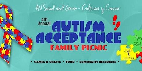 AVSG 4th Annual Autism Acceptance Picnic tickets