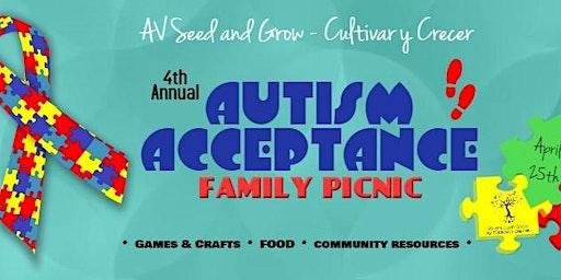 AVSG 4th Annual Autism Acceptance Picnic