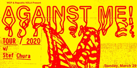 AGAINST ME! - CANCELED tickets