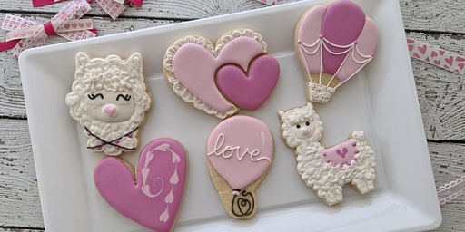 A Whole Llama Love is in the Air - Cookie Decorating @ The Queen's Cups