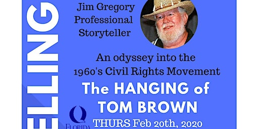 The Hanging of Tom Brown: An Odyssey into the 1960's Civil Rights Movement