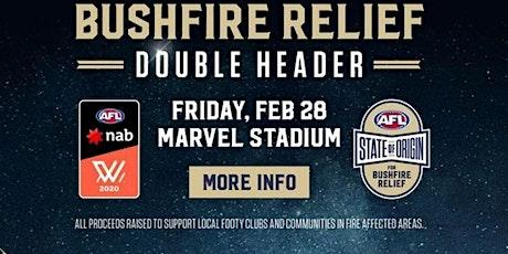 Holmesglen Rec AFLW / AFL State of Origin Double Header tickets