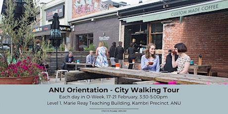 ANU Orientation - City Walking Tour tickets