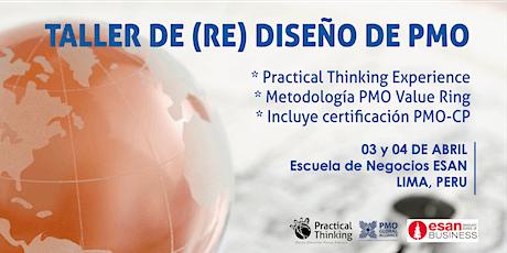 Taller Diseño y Rediseño PMO (Practical Thinking Experience - PMO Value Ring) & Certificación PMO-CP Lima 2020 entradas