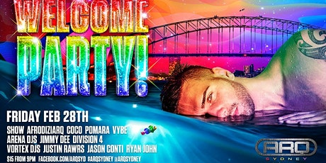 Mardi Gras 2020 Welcome Party - Arq Sydney tickets