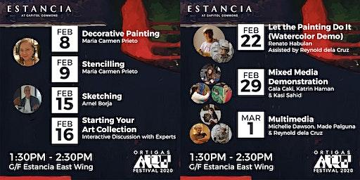 Ortigas Art Festival Workshops and Demonstrations