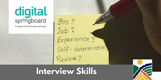 Interview Skills @ Freeling Library (Mar 2020)