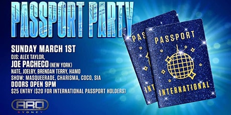 Mardi Gras 2020 - Sunday Night Passport Party tickets