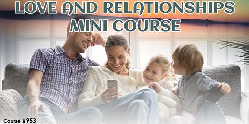 Love and Relationship mini course - Queensland!