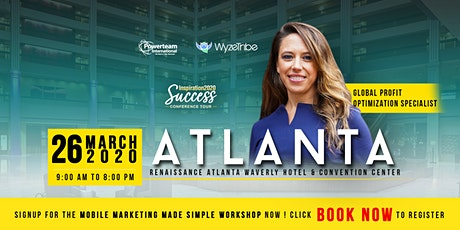 Mobile Marketing Made Simple - Inspiration2020 - Atlanta tickets