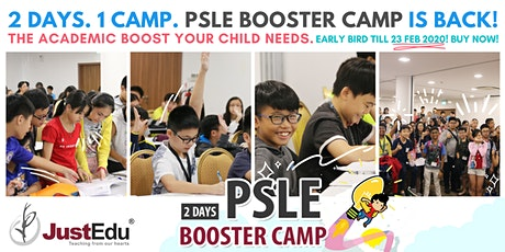 [Earlybird!] JustEdu PSLE Booster Camp 2020 tickets