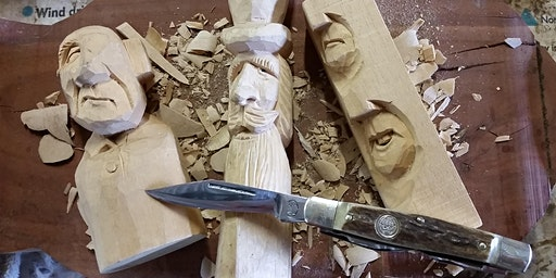 Whittling/Woodcarving Workshop - Beginners Level