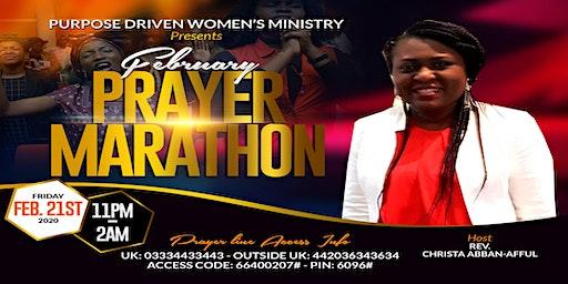 February Prayer Marathon