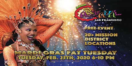2020  Carnaval SF Mardi Gras Fat Tuesday Kick-Off Celebration! tickets