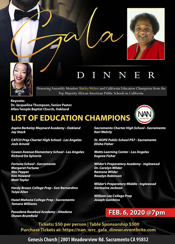National Action Network Western Regional Gala Dinner image