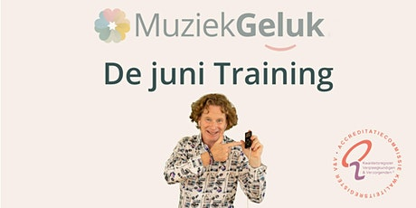 MuziekGeluk de juni-training tickets