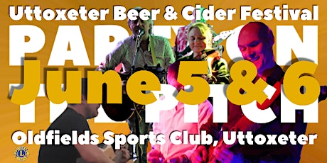 Party on the Pitch 2020  - annual beer and cider festival  with live music tickets