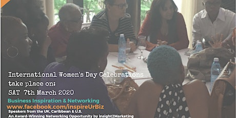 inspireUrBiz Antigua and Barbuda #iwd2020 entradas