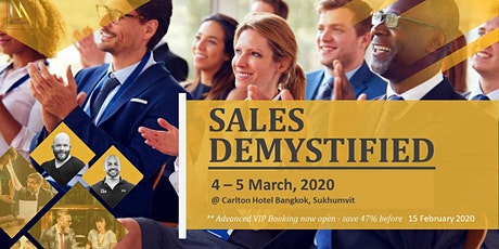 Sales Demystified: Connect, Persuade & Influence tickets