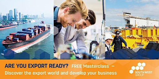 Free Masterclass - Discover the export world and develop your business