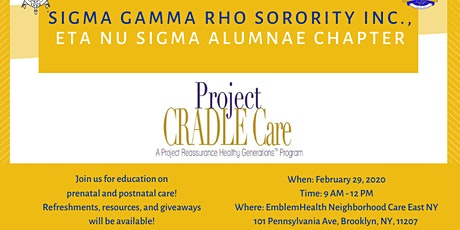 Project CRADLE Care tickets