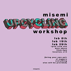 Misemi Upcycling Workshop tickets