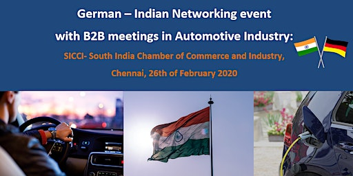 Registration for  individual B2B meetings with German companies