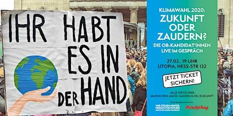 Klimawahl 2020: Zukunft oder Zaudern? Tickets