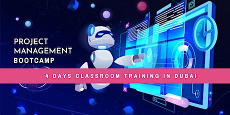 PMP certification training Bootcamp program in Dubai tickets