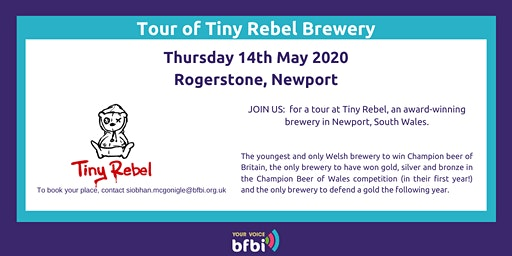 BFBi  Tiny Rebel Tour