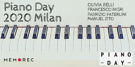 Piano Day Milano 2020 tickets