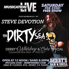 Musication Live Steve Devotion The Dirty Sea tickets