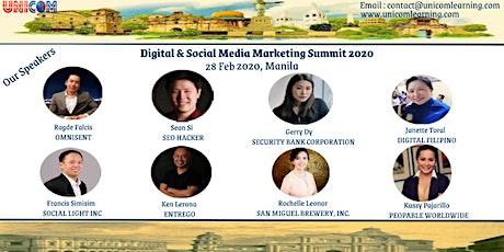Digital & Social Media Marketing Summit 2020 - Manila tickets