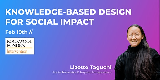 UX Passion Talk // Knowledge-based design for social impact