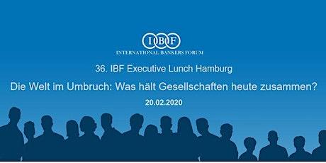 36. IBF Executive Lunch Hamburg Tickets
