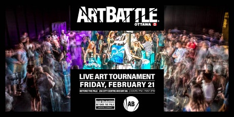 Art Battle Ottawa - February 21, 2020 tickets