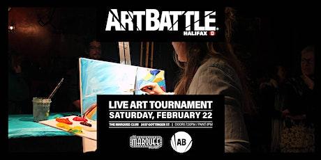 Art Battle Halifax: All-Stars - February 22, 2020 tickets