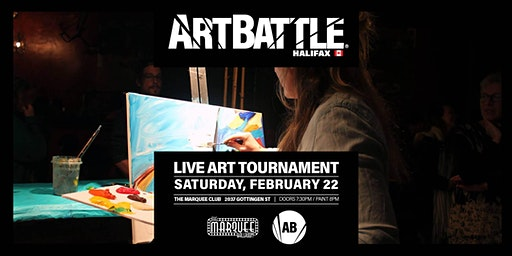 Art Battle Halifax: All-Stars - February 22, 2020