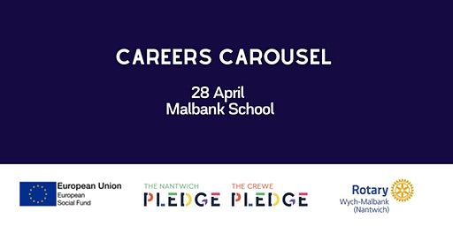 Careers Carousel at Malbank School