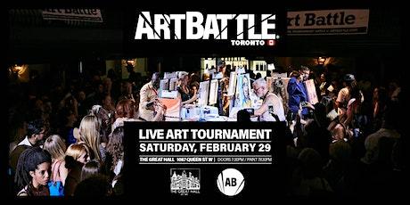 Art Battle Toronto - February 29, 2020 tickets
