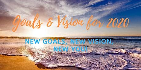 Goals & Vision 2020 tickets