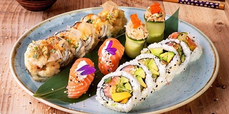 Social Sushi 3 Course Japanese Experience with Art Sushi UK at Tonic Social tickets